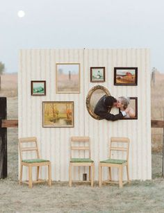 LeAnn and Will's beautiful American Outdoor Wedding on The Prairie Diy Photo Booth, Photo Booth Backdrop, Photo Props, Backdrop Ideas, Photobooth Idea, Photo Backdrops, Photo Booths, Photography Props, Wedding Photography
