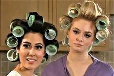 Korean Hairstyles Women, Redhead Hairstyles, Curled Hairstyles, Sleep In Hair Rollers, Hair Curlers Rollers, Loose Curl Perm, Loose Curls, Best Professional Hair Dryer, Velcro Rollers