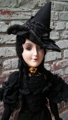 Miss Anita Boudoir Doll Witch