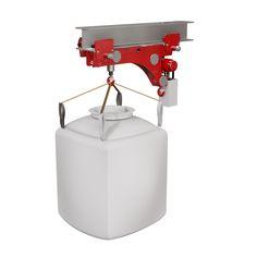 Wciągniki pneumatyczne z wózkami - Red Rooster Industrial (UK) Ltd Sp. z o.o.