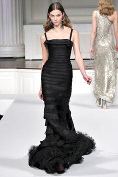 Fall, 2011, Oscar de la Renta gown
