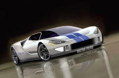Janwib.blogspot Oldtimers en Meer : Nieuwe Ford GT  Supercar !   (VideoPresentatie)