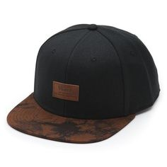 Vans Allover It Snapback - Black / Washed Dachshund