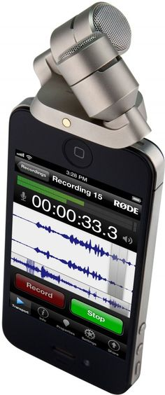 New iXY Microphone from RØDE is the World's First 24-Bit/96K Apple iOS Recorder $200
