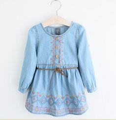 toddler denim dresses - Google Search