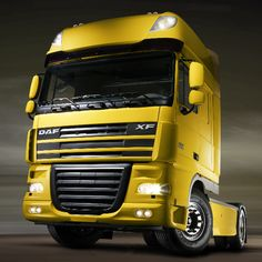 DAF Trucks. One of the most popular trucks in Europe.