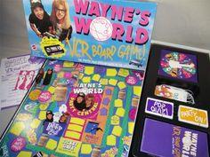 Wayne's World board game. - Imgur