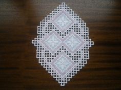 Spring Blossoms Hardanger Piece by MnMom23 on Etsy