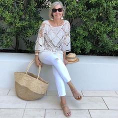 Best Fashion Tips For Women Over 60 - Fashion Trends Maxi Outfits, Cool Outfits, Casual Outfits, Fashion Outfits, Fashion Trends, Over 60 Fashion, Over 50 Womens Fashion, How To Look Classy, Look Chic