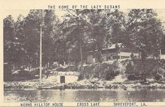 I found these pictures on the intraweb of Worms. Does anyone know where on Cross Lake this restaurant was or have any additional information on it?