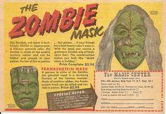 Bayshore Zombie Mask Ad   Blood Curdling Blog of Monster Masks