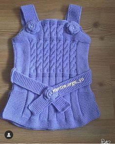 Kids Patterns, Baby Knitting Patterns, Crochet Baby, Knit Crochet, Woolen Dresses, Crochet Christmas Ornaments, Baby Vest, Baby Sweaters, Crochet Flowers