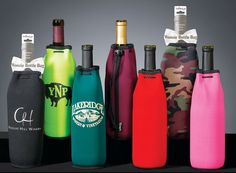 Wine Bottle Woozie Wine Koozie Collection. $15.00, via Etsy.