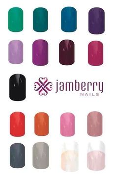 Don't want pattern nail wraps? Here are some great solid Jamberry nail colors! Kaedy.jamberrynails.net