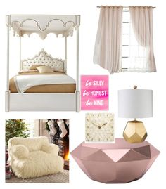 """""""Hazel Levesque's Bedroom"""" by regulus-star on Polyvore featuring interior, interiors, interior design, home, home decor, interior decorating, Haute House, Zuo, PBteen and Stupell"""