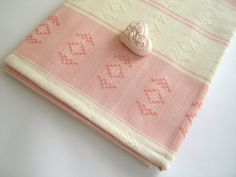 Handwoven Turkish Towel Kilim Peshtemal Natural by TheAnatolian, $29.50