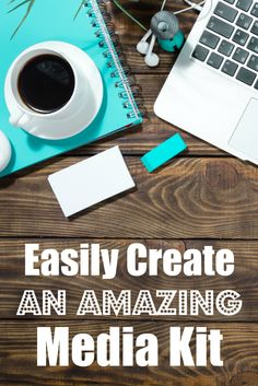 Tips and tricks to EASILY create an amazing media kit for your blog.   mindful-shopper.com   #BloggingTips #DIY #Marketing