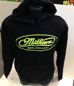 Mathews Men's Bold Move Neon Yellow Hoodie New 2014 Style!  Large