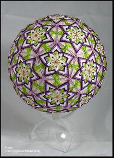 Temari Ball via Roger Yorke