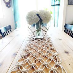DIY Macrame Table Runner