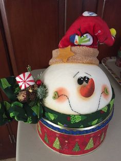 Nieve Christmas Party Decorations, Christmas Candy, Christmas 2019, Kids Christmas, Christmas Crafts, Christmas Ornaments, Holiday, Painted Gourds, Biscuit
