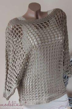 Fabulous Crochet a Little Black Crochet Dress Ideas. Georgeous Crochet a Little Black Crochet Dress Ideas. White Crochet Top, Black Crochet Dress, Cute Crochet, Beautiful Crochet, Simple Crochet, Crochet Cardigan Pattern, Crochet Tunic, Crochet Clothes, Crochet Patterns