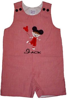 Custom Disney Mickey Mouse Vacation John John by ChildrensCottage, $43.00
