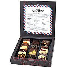 Schokolade nascht jede Mutti gerne, schmeckt auch himmlisch lecker. Verwöhnen ist mit der schokoladigen Weltreise kein Problem mehr.