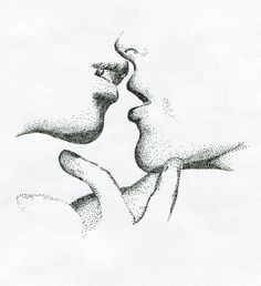 Dotwork illustration