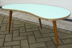SOLD 1950's kidneyshaped (niertafel) table NICE NICE NICE  www.royalcrown.nl