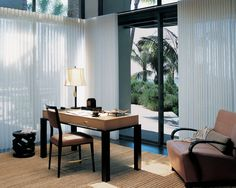 Especially Suited For Expansive Walls Of Windows And Sliding Glass Doors,  Hunter Douglas Luminette Privacy Sheers Rotate For Infinite Degrees Of  Light ...