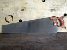 Panel Saw- hand made by Wenzloff & Sons