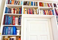 IKEA Hack: Turn old Billy shelves into floor-to-ceiling bookshelves