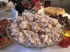 White Chocolate Covered Cashews - Catering by Debbi Covington - Beaufort, SC