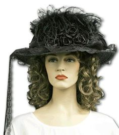 Trendy Victorian and Vintage Style Cute Hats for Women. Click on the picture to read the article.