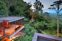 Auckland Architect Brake House 1971 as refined by Ron Sang, a classic piece of exceptional New Zealand architecture