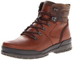 ECCO Men's Track 6 Plain Toe Chukka Boot, Birch, 41 EU/7-7.5 M US -- See this great product.