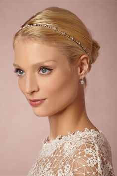 Bohemia Halo from @BHLDN | romantic & bohemian hair accessories for the bride