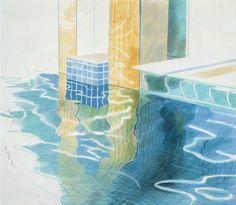 David Hockney (род. 1937г). Интерьер и натюрморт - Музей рисунка