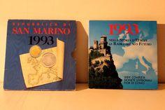 SERIE MONETE SAN MARINO 1993 NELLA STORIA D'EUROPA LE RADICI DEL SUO FUTURO