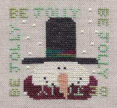 Snowman two be jolly Snowman Trilogy Designer - Val's Stuff