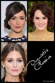 Kibbe•Dramatic Classic•Possibilities Rose Byrne, Michelle Dockery, Olivia Palmero