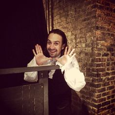 I have the biggest crush on this man. Lin-Manuel Miranda is the king of all our hearts.