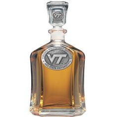 Virginia Tech Hokies Glass Capitol Decanter (Spirit Holder) 24 oz - NCAA College Athletics >>> Want additional info? Click on the image.