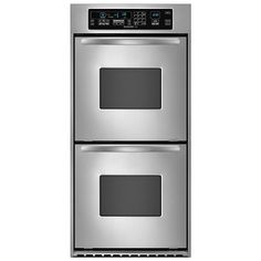 """KitchenAid - KEBC247VSS - Architect® 24"""" Double Wall Oven w/ True Convection 