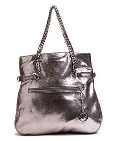 This Nickel Lacey Large Fold over Tote by MICHAEL Michael Kors is perfect! #zulilyfinds