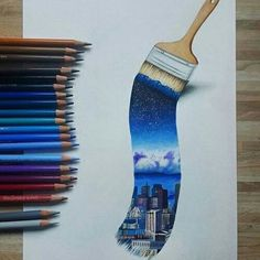 Imagen de art, drawing, and city