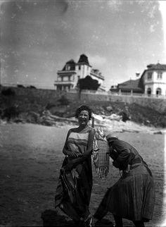 Mário Novais  Monte-Estoril's beach - August 1927