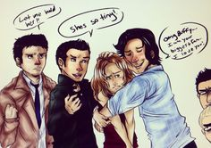 Team Free Will meets Buffy - This made me laugh.    Sam stop by ~eeee15 on deviantART