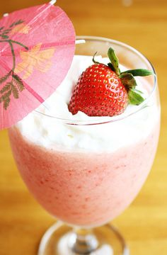 Strawberry Pina Coladas from Lulu the Baker for Ciera Design